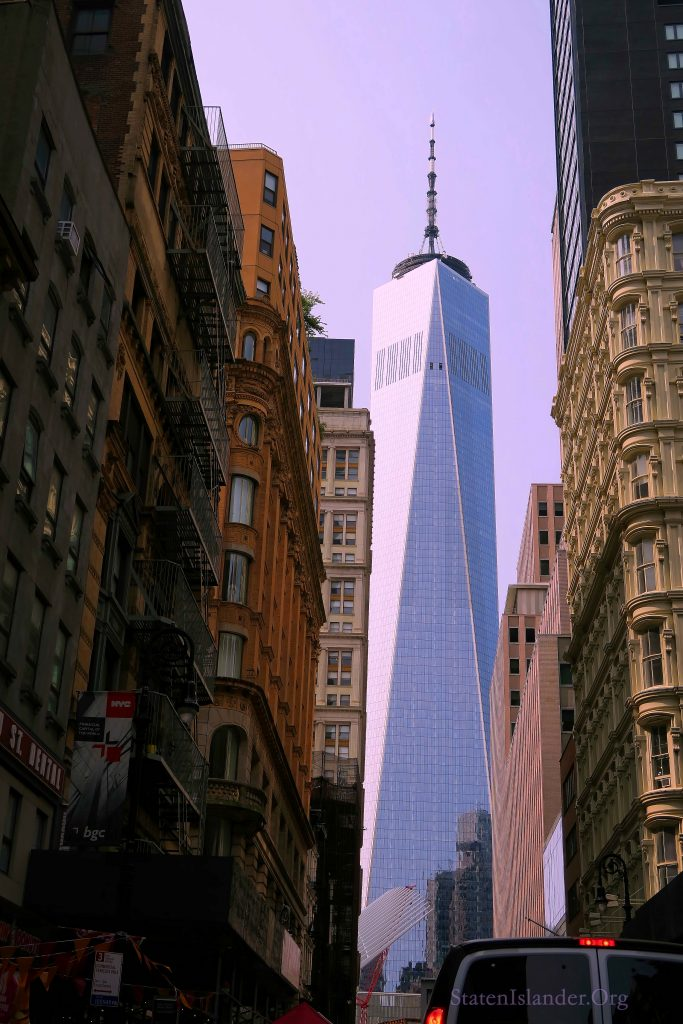 The Freedom Tower, Looking West (1)