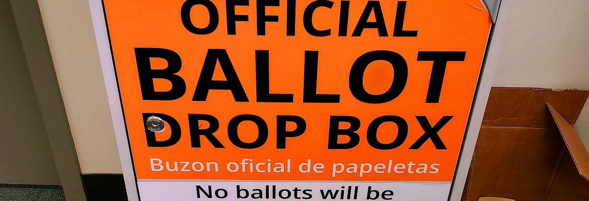 Official Ballot Drop Box