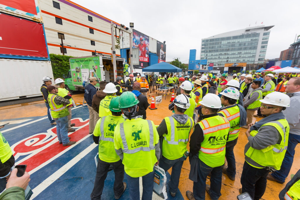 US Deparment of Labor Construction Worker Event