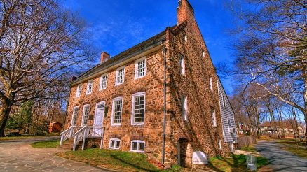 Conference House in Tottenville. Image Credit: Andy in NYC.
