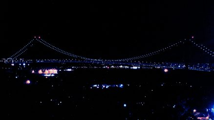 Verrazzano Narrows Bridge. Looking East From Wagner College on Grymes Hill. 9-4-2019. Image Credit- StatenIslander.Org