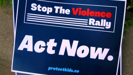 Protect Our Kids 'Stop The Violence' Rally At The 121 Precinct In Graniteville