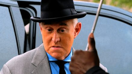 Roger Stone by Victoria Pickering. License By CC 3.0