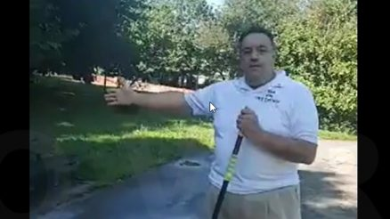 Sam Pirozzolo Asks What Is In The Paint That Was Used At Clove Lakes Park