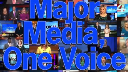 Major Media Moves Lockstep: A Danger To Our Democracy