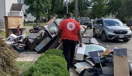 Salvation Army Helps Residents In Areas Damaged By Hurricane Ida. Image Credit - The Salvation Army